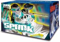 Zap spank paintballs